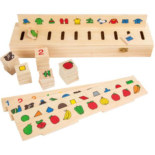 Clasificación de imágenes madera 55 piezas