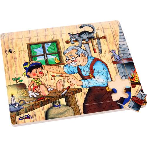 El taller de Geppetto puzzle 20 piezas