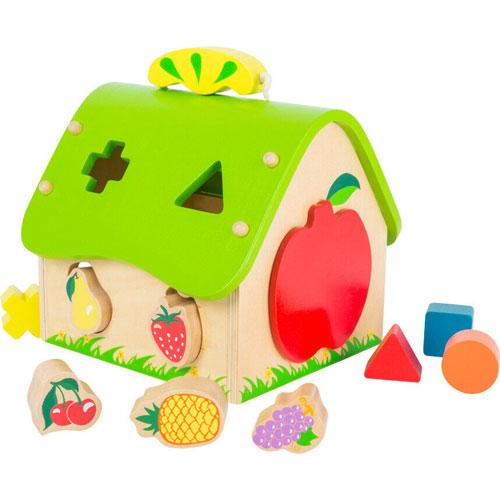 Casa para encajar frutas