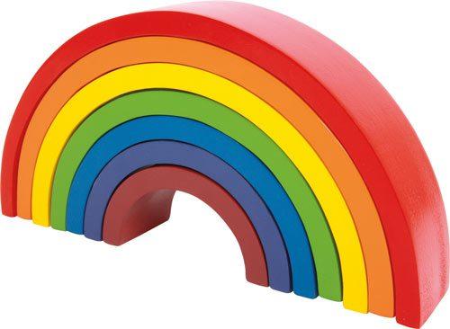 Arcos de colores detalle 1