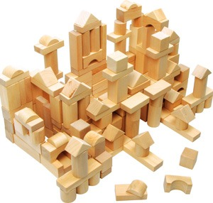 Construcción madera 100 piezas