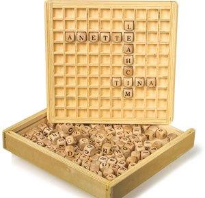 Caja para formar palabras