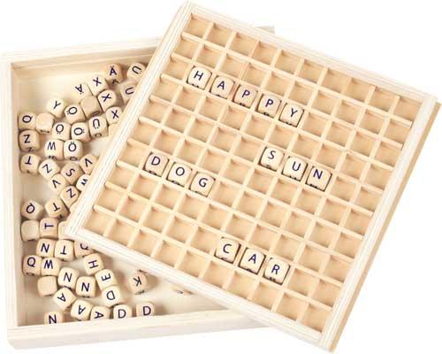 Caja para formar palabras detalle