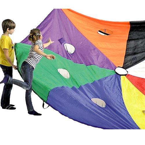 Paracaídas 6 m con bolsillos detalle 1