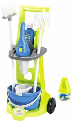 Carrito limpiezas con accesorios