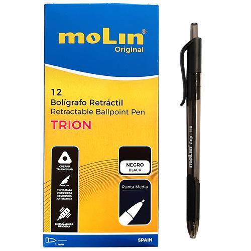 Bolígrafo negro Tiron