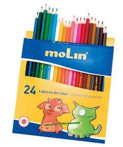Lápices de colores 24 ud.