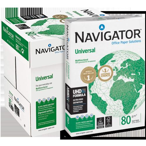 Papel A3 Navigator 80 gr