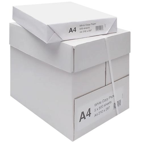 Papel anónimo A4 80 gr paquete 500 hojas 10 cajas