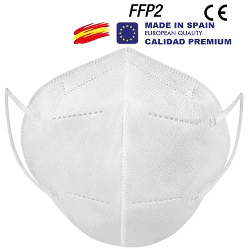 Mascarilla FFP2 KN95 sin válvula España detalle 1
