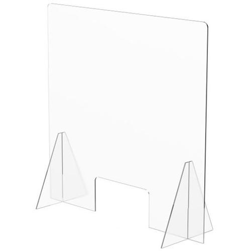 Mampara protección vertical 90 x 60 cm detalle 1