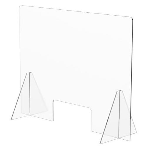 Mampara protección horizontal 60 x 90 cm detalle 1