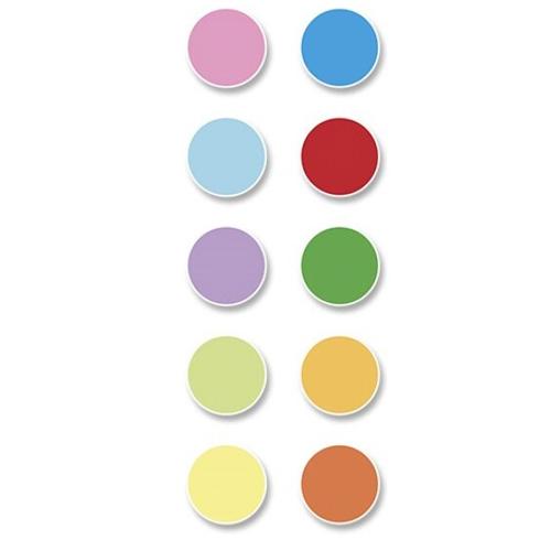Papel A4 100 h 10 colores surtidos pastel y fuertes detalle 1