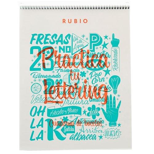 Cuaderno de bocetos lettering
