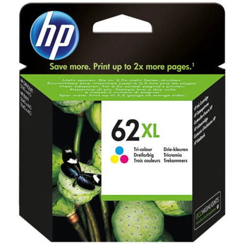 Cartucho HP Inkjet 62XL Tricolor