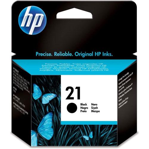 Cartucho HP Inkjet 21 Negro