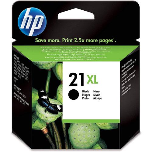 Cartucho HP Inkjet 21XL Negro