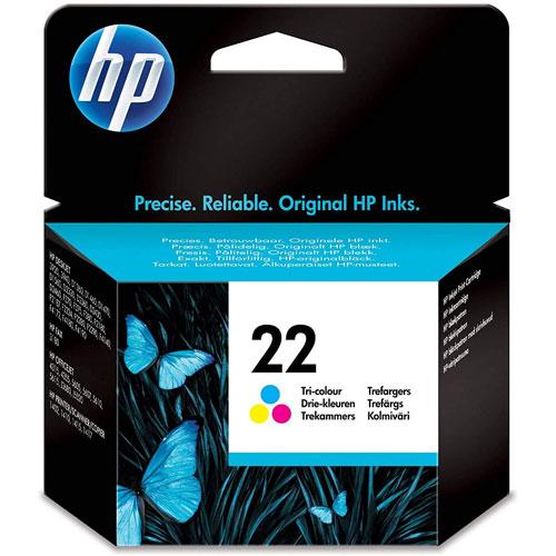 Cartucho HP Inkjet 22 Tricolor