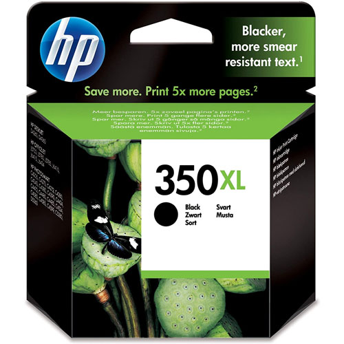 Cartucho HP Inkjet 350 Negro
