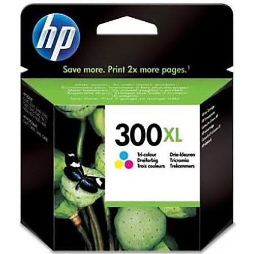 Cartucho HP Inkjet 300XL Tricolor