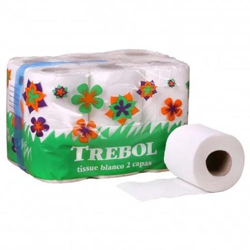 Papel higiénico de doble capa 12 rollos