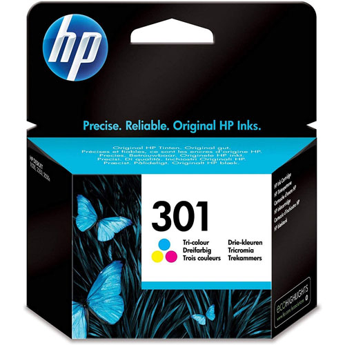 Cartucho HP Inkjet 301 Colores