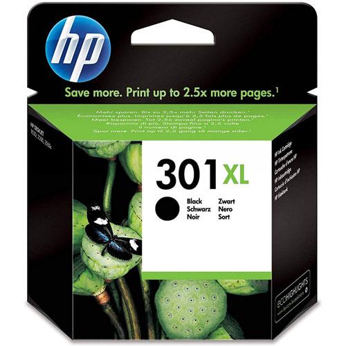 Cartucho HP Inkjet 301XL Negro