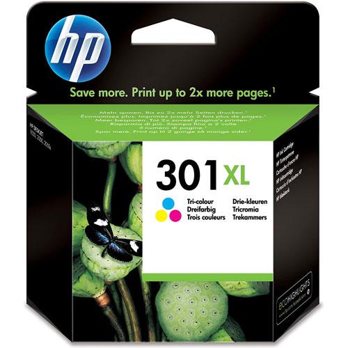 Cartucho HP Inkjet 301XL Tricolor