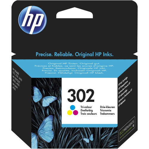 Cartucho HP Inkjet 302 Ticolor
