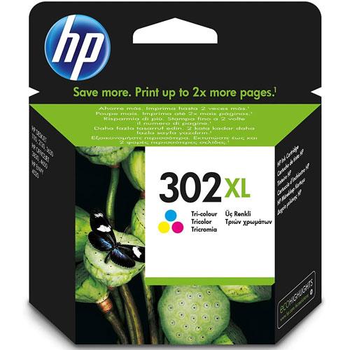 Cartucho HP Inkjet 302XL Tricolor