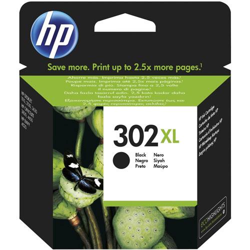 Cartucho HP Inkjet 302XL Negro