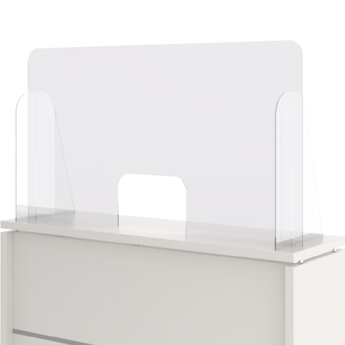 Mampara de protección horizontal de 120 x 90 cm