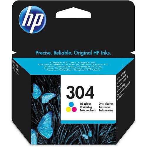 Cartucho HP Inkjet 304 Tricolor