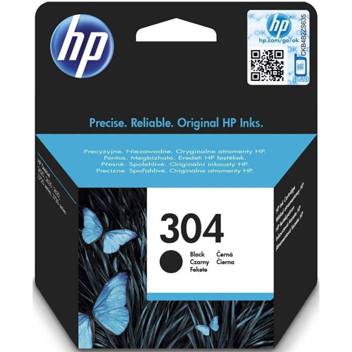 Cartucho HP Inkjet 304 Negro