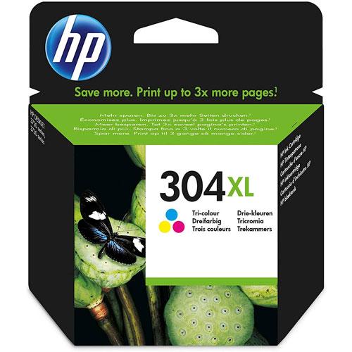 Cartucho HP Inkjet 304XL Tricolor
