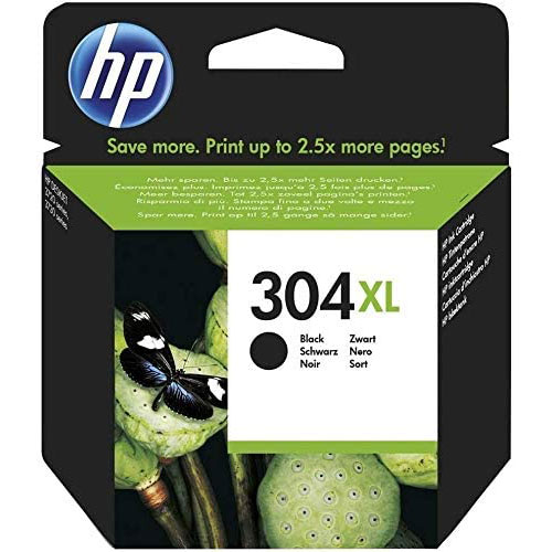 Cartucho HP Inkjet 304XL Negro