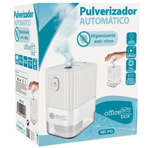Pulverizador de gel hidroalcohólico automático detalle 3