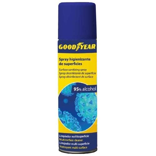 Gel spray higienizante para superficie