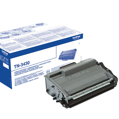 Toner BROTHER TN-3430 Negro
