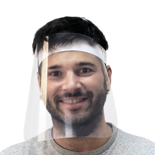 Pantalla facial nº 2 con cinta