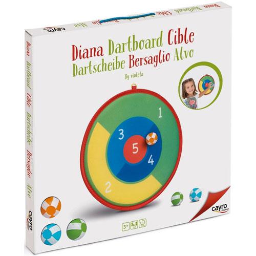 Diana clásica de pelotas 35 cm detalle 1