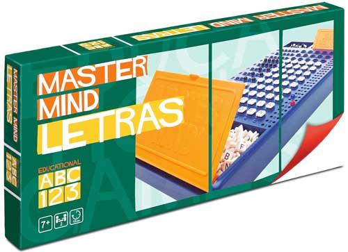 Master Mind Letras detalle de la caja