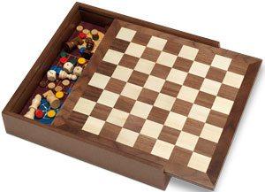 5 juegos en 1 madera