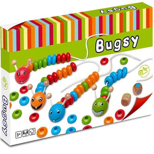 Bugsy ensartables detalle 1