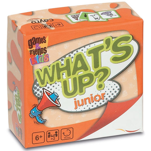 What's up? Junior - Contar historias