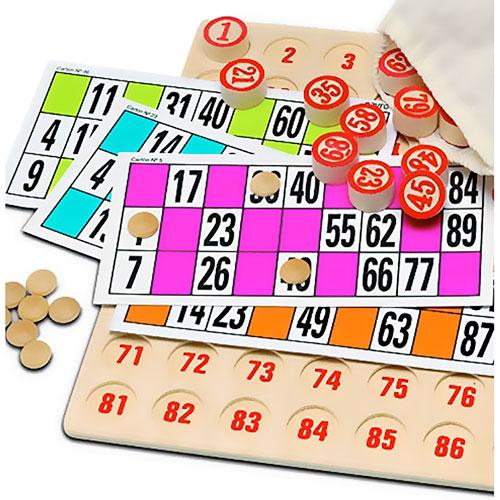 Bingo lotería XXL extra grande detalle 1