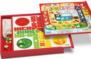 Parchis-oca reversible