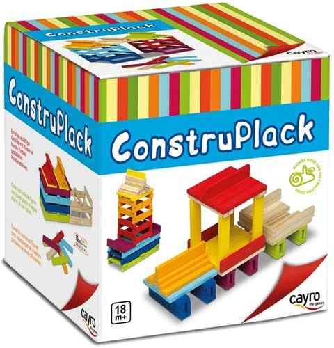 ConstruPack 70 piezas de madera detalle 2