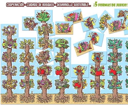 Los bosques de Tantai detalle 1