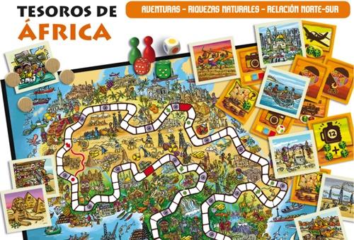 Los tesoros de África detalle 1